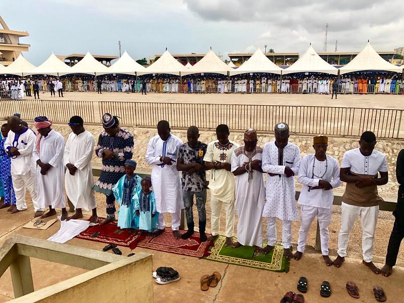 Eid al-Fitr Celebration at Black Star Square