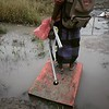 Flooded Fieldworker