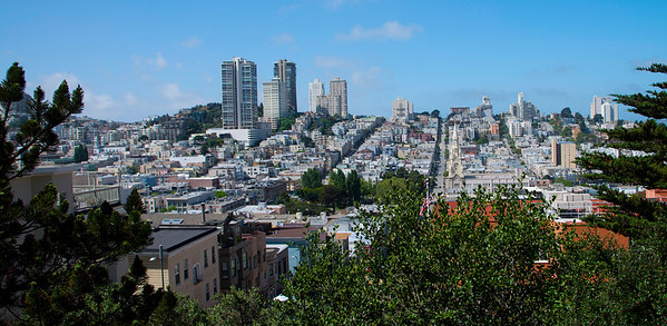 A View of San Francisco fro Telepgraph Hill