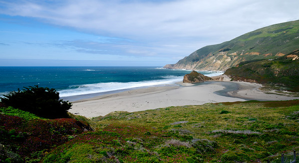 Coast Line in Big Sur Area
