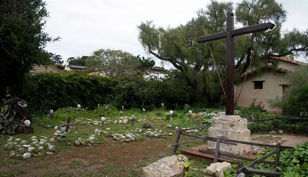 Carmel Mission Graveyard
