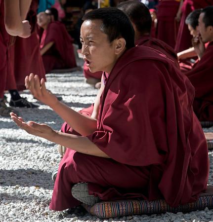 Debating Monk