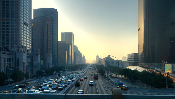 Beijing Evening Traffic