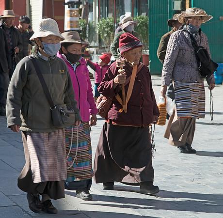 Pilgrims, Lhasa, Tibet