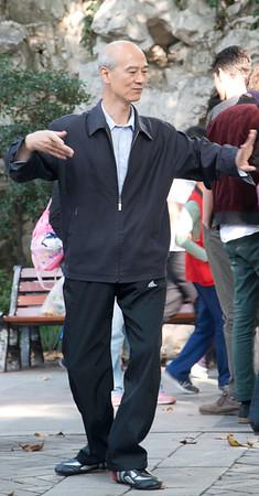 Dancing in Jiang'An Park, Shanghai