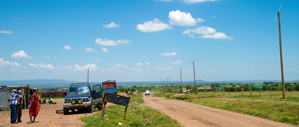 On the Road to Masai Mara Game Reserve