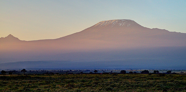 Kilimandjaro in the morning light