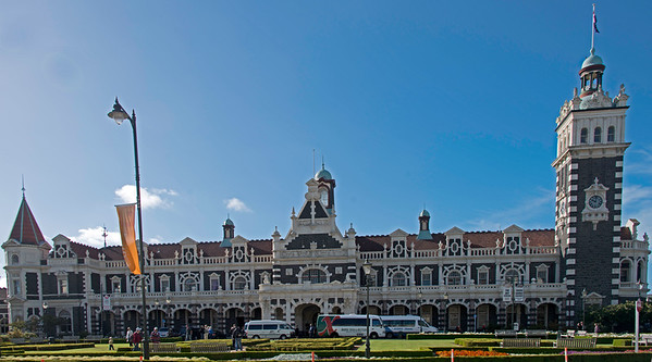 Dunedin Train Station, built in 1906 in Flemish Renaissance style