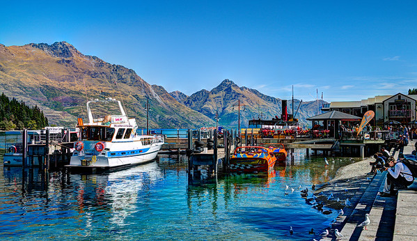 Queenstown harbor