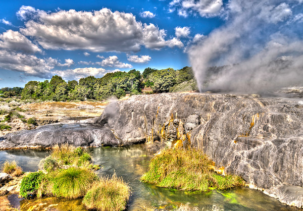 Pohutu Geysir, Rotorua