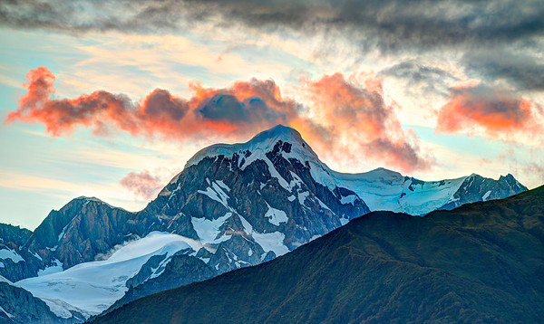 Mt Cook at sunrise