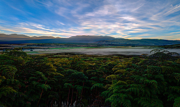 Te Anau Downs at sunrise