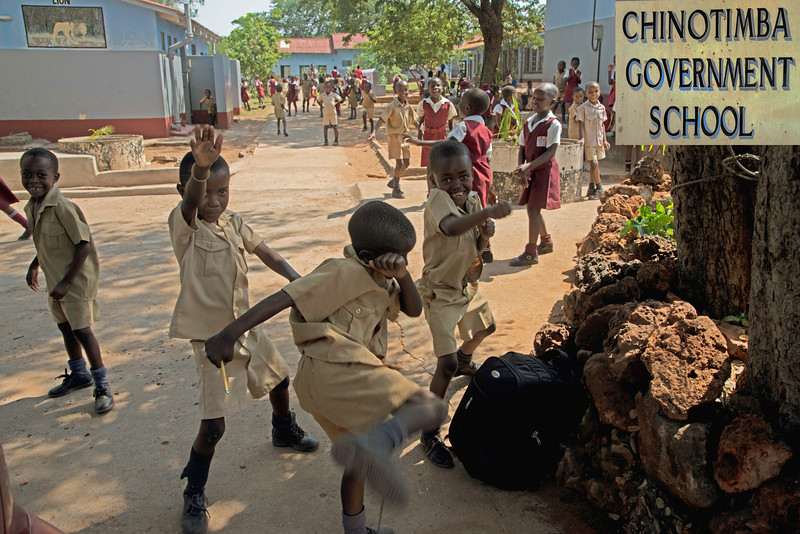 Chinotimba Government School in Victoria Falls