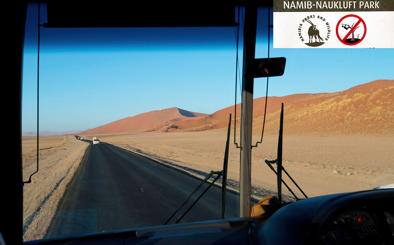 On the Way to Namib-Naukluft Park