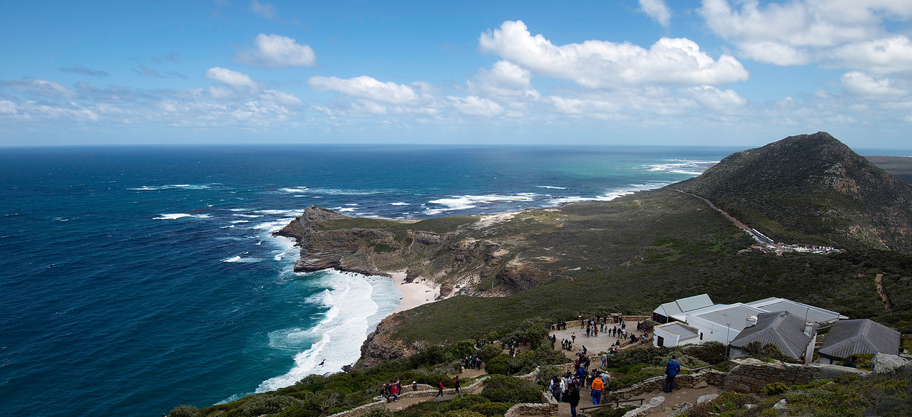 View of the Cape of Good Hope from Above