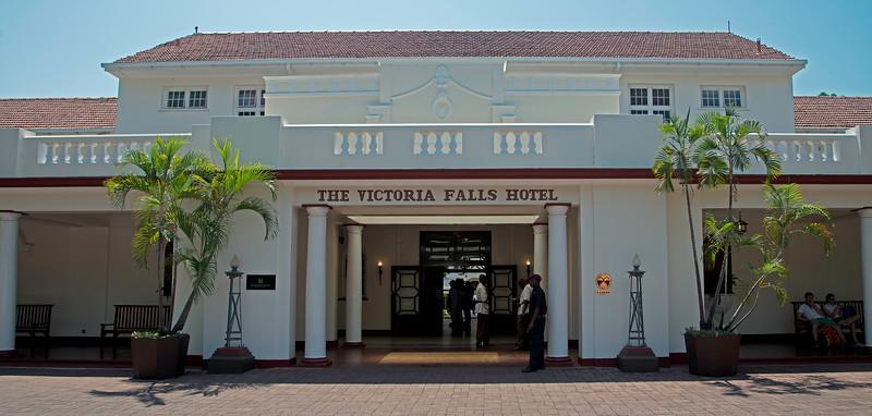 The Historic Victoria Falls Hotel (1905)