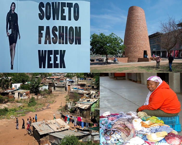 Various Views of Soweto Life