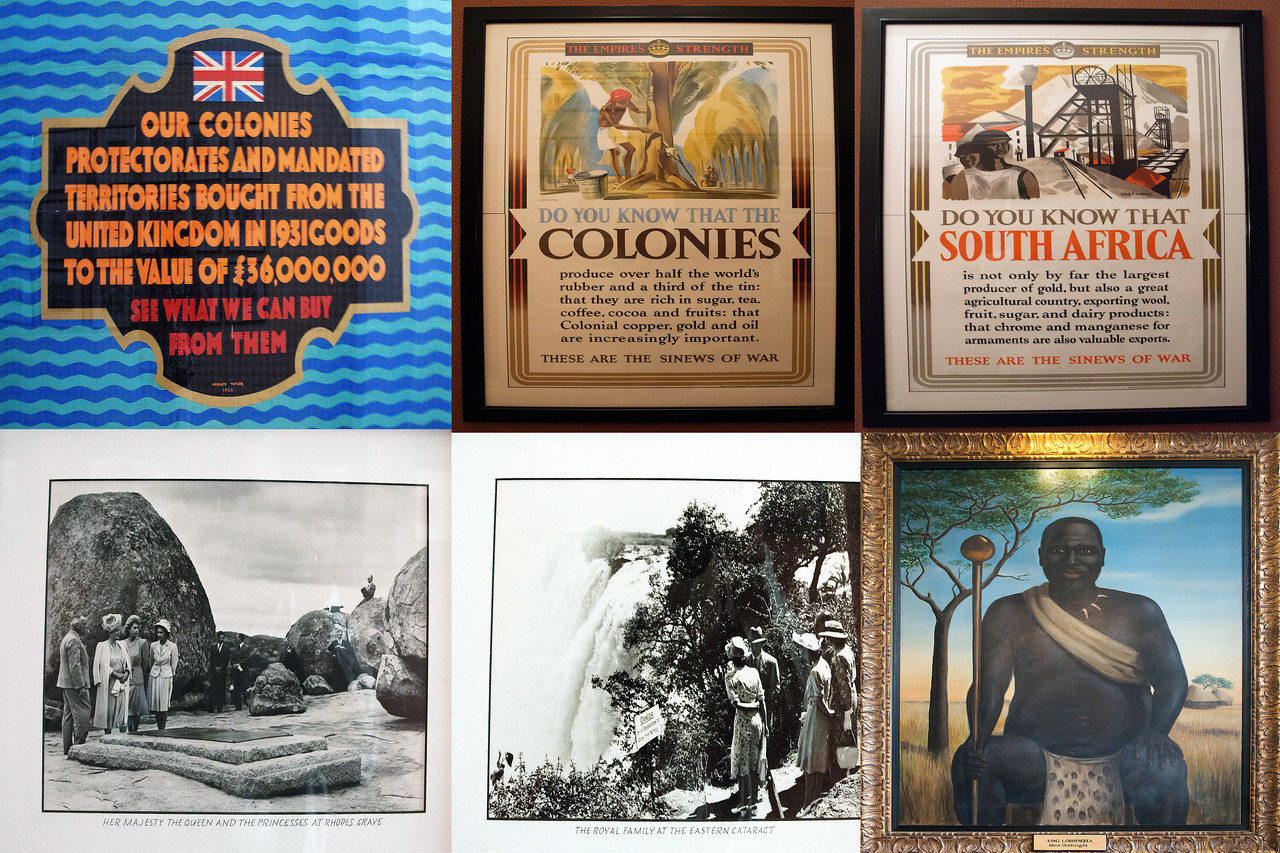 Inside the Victoria Falls Hotel: Historic Images and Posters