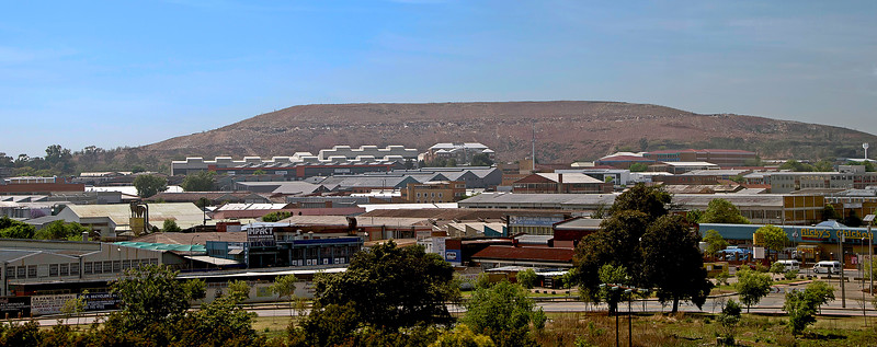Gold Mine in Johannesburg