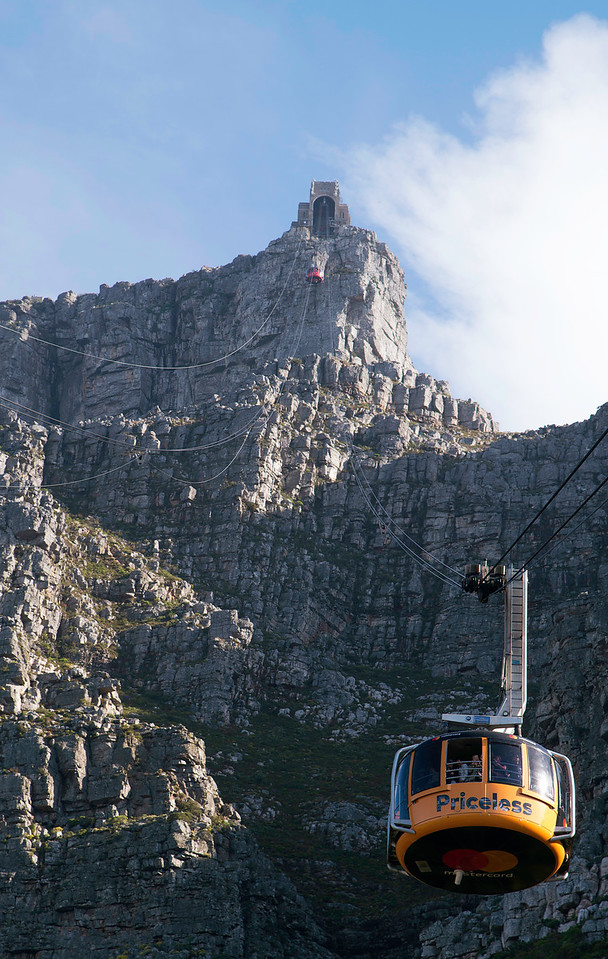 Table Mountain with Cable Way