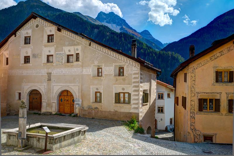Ardez Village, Engadin, Switzerland