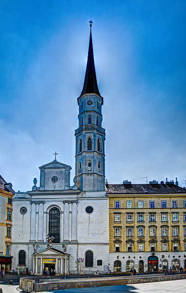 Michaelerkirche -- St. Michael's Church -- Vienna