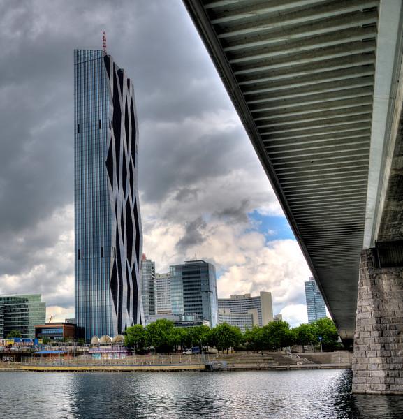 New Vienna along the Danube River