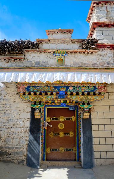 Tibetan House Entrance
