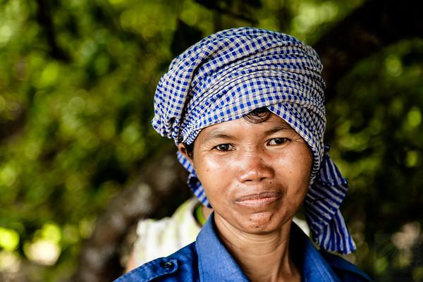 Khmer Woman - Cambodja