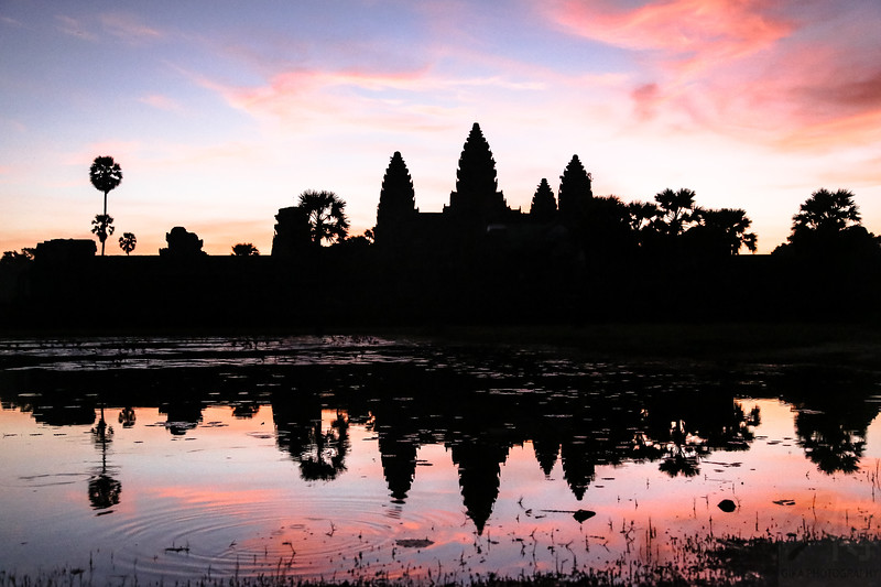 Sunrise in Angkor Wat - Cambodja