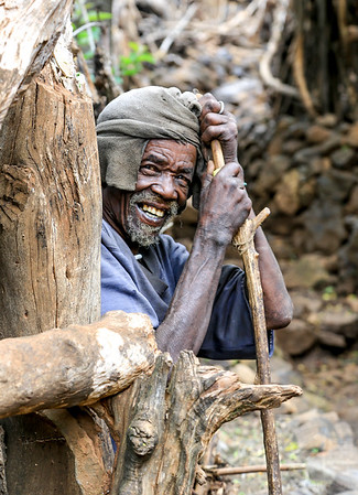 In a Konso Village - Ethiopia