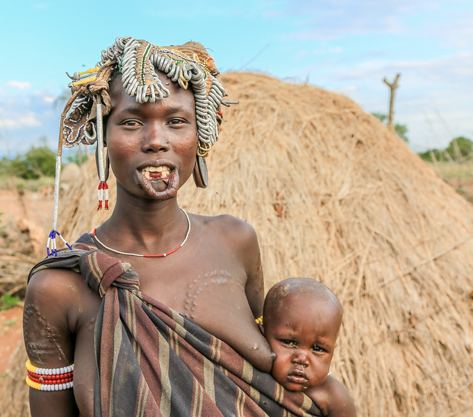 Mursi Tribe - Omo Valley, Ethiopia