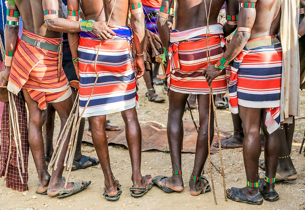 Hammer Boys - Omo Valley, Ethiopia