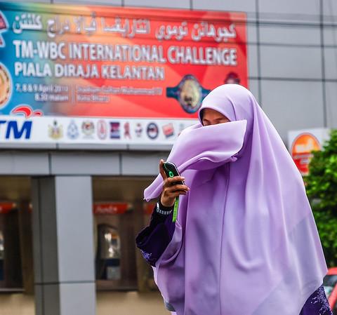 In Kota Bharu, Malaysia