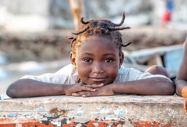Girl at Ilha de Moçambique - Mozambique