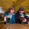 Mom und Jürgen auf Bierkur.