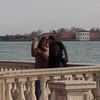 Ein romantischer Moment in Venedig.