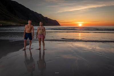 Håkon og Daniel