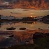Kveldstund i Svortevik/Sunset at Svortevik