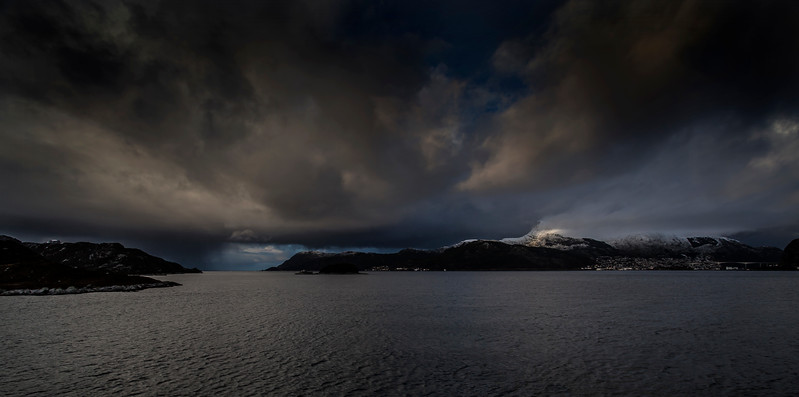 Towards Måløy on the West Coast of Norway