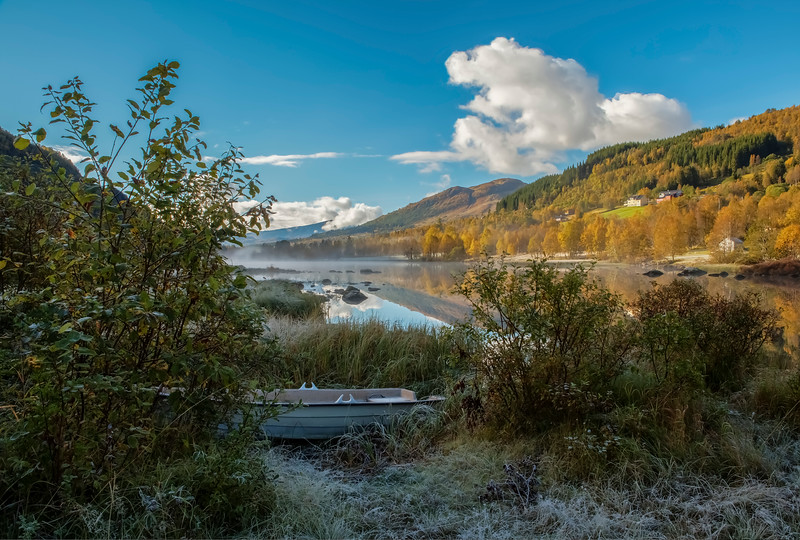 Autumn Morning in Sogn