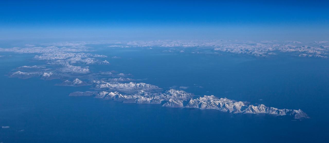 Winter colors towards Lofoten