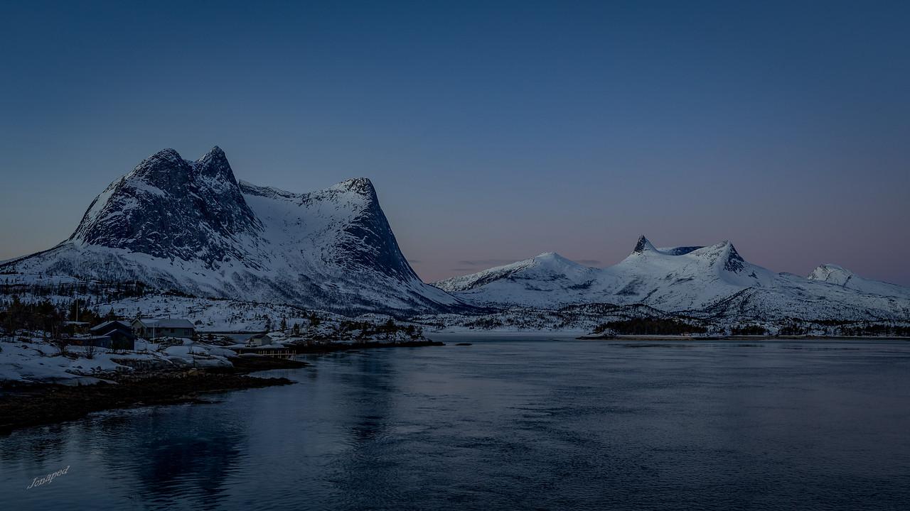 Utsikt frå Sørstraumen