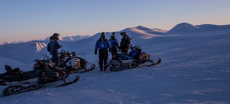 På Slakkbreen/On the Slakk Glacier