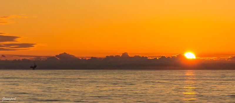 Huldra in the sunset / Huldra i solnedgang