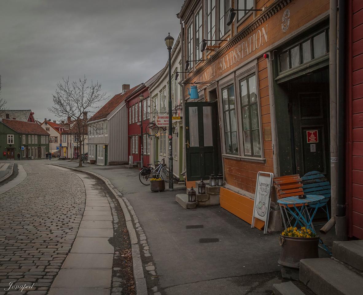 Gatelangs på Bakklandet :-)