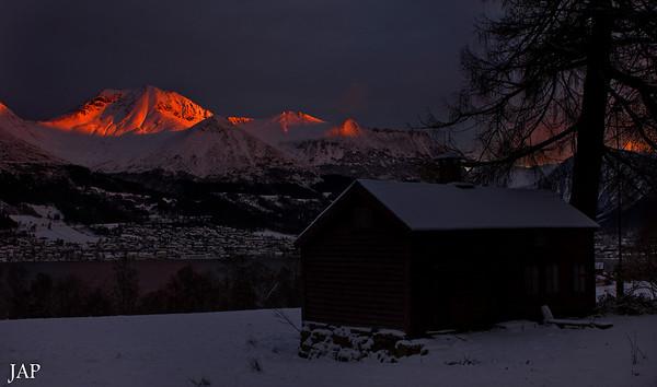 Vintermorgon i Ørsta