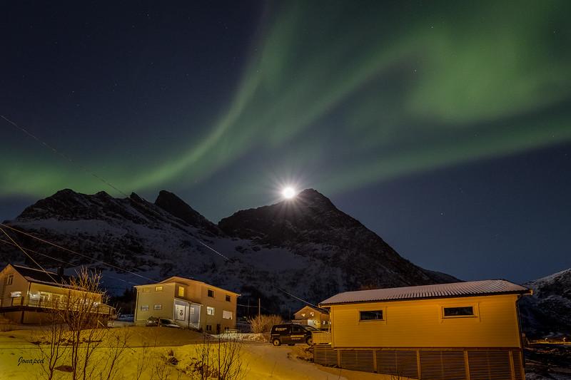 Supermåne i Steinfjord