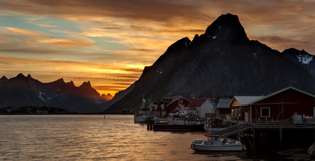 Reine i Lofoten/ Reine ,Lofoten islands