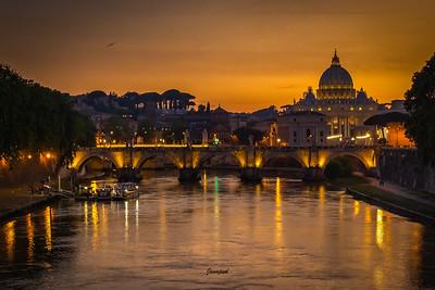 Mot Vatikanet og Peterskyrkja